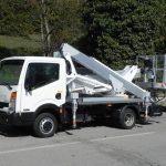 Hoogwerker op bestelwagen Rijbewijs B - Multitel MX 210